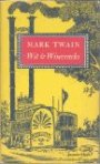 Pictorial board of a Mark Twain book shows a riverboat